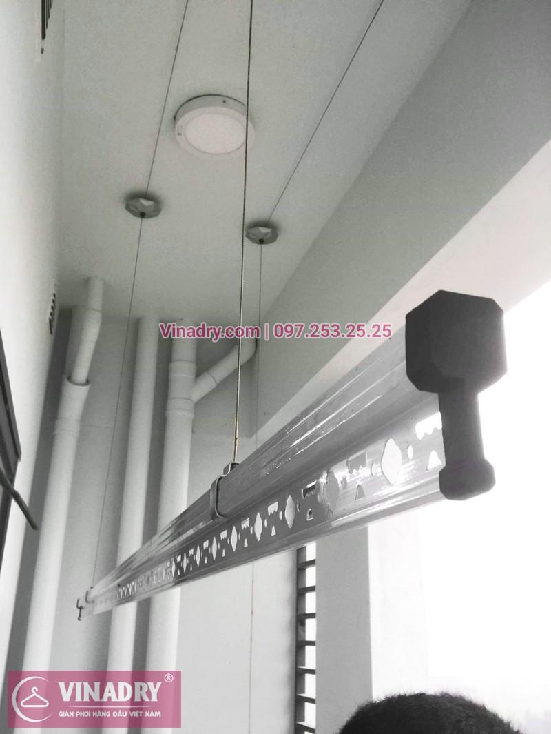 Bộ giàn phơi KS950 giá chỉ 1.090k lắp tại nhà chị Nhạn, chung cư 777 Giải Phóng - 01