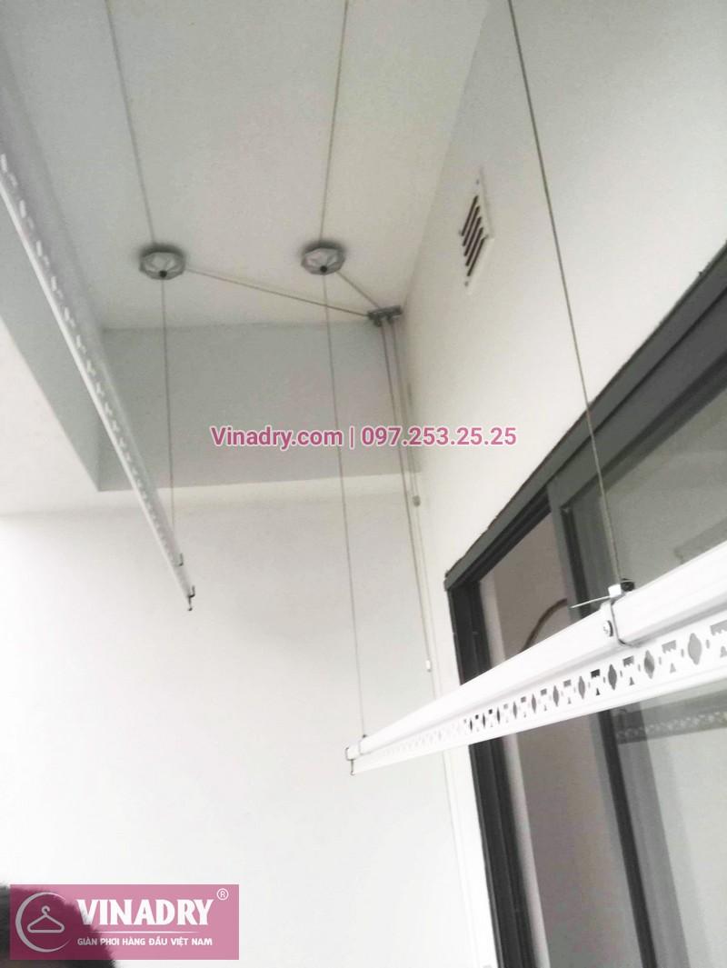 Bộ giàn phơi KS950 giá chỉ 1.090k lắp tại nhà chị Nhạn, chung cư 777 Giải Phóng - 03