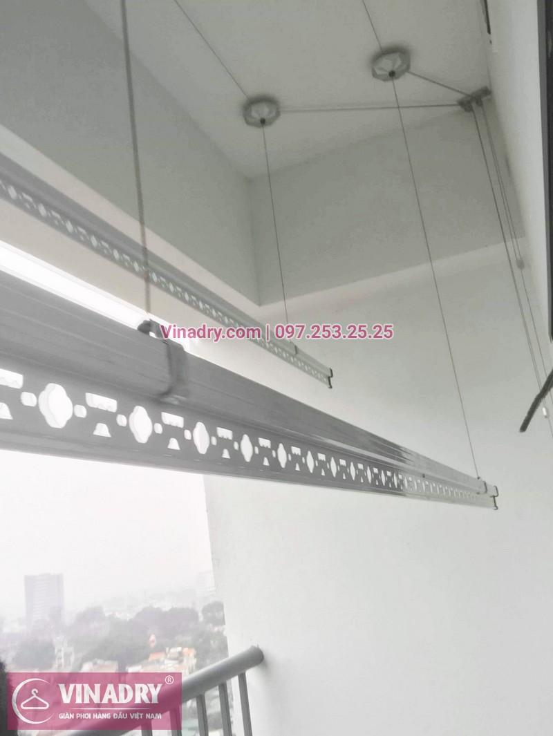 Bộ giàn phơi KS950 giá chỉ 1.090k lắp tại nhà chị Nhạn, chung cư 777 Giải Phóng - 04