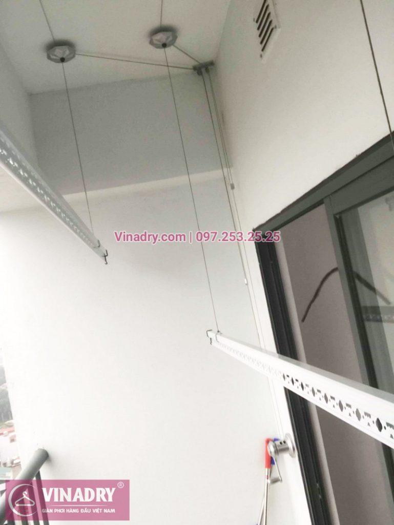Bộ giàn phơi KS950 giá chỉ 1.090k lắp tại nhà chị Nhạn, chung cư 777 Giải Phóng - 05