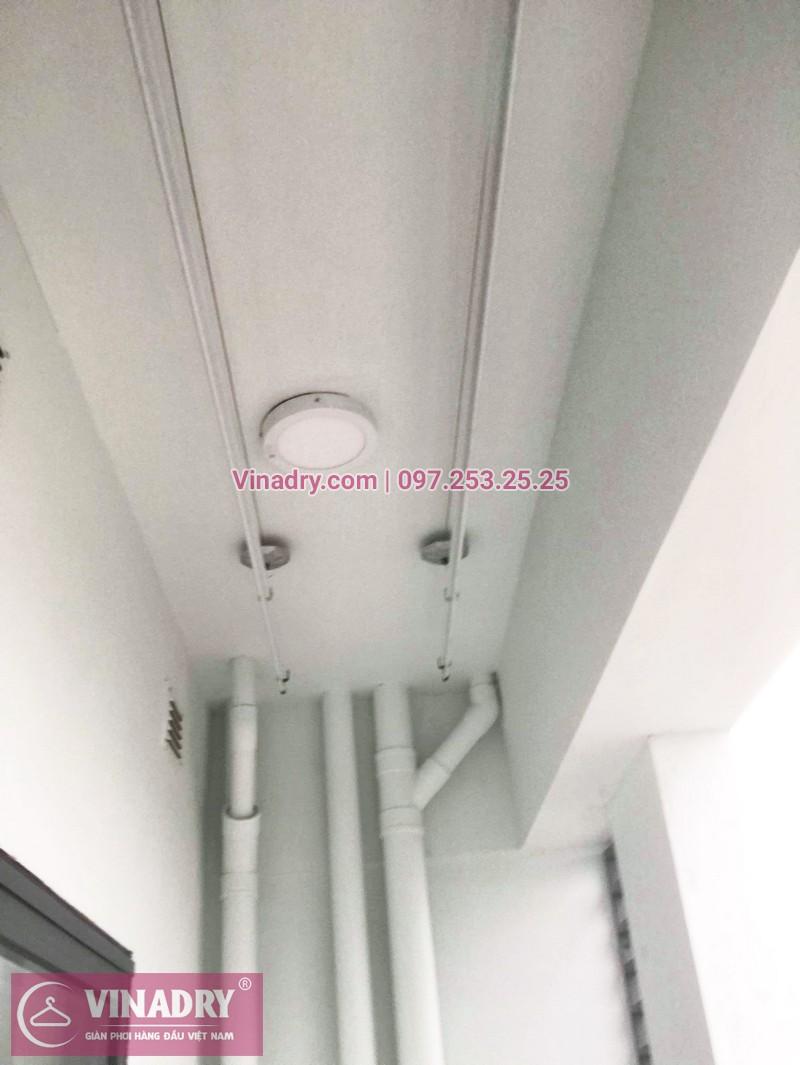 Bộ giàn phơi KS950 giá chỉ 1.090k lắp tại nhà chị Nhạn, chung cư 777 Giải Phóng - 08