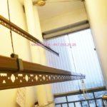 Ảnh thực tế bộ giàn phơi giá rẻ KG900 lắp tại Goldmark City nhà anh Tiềm