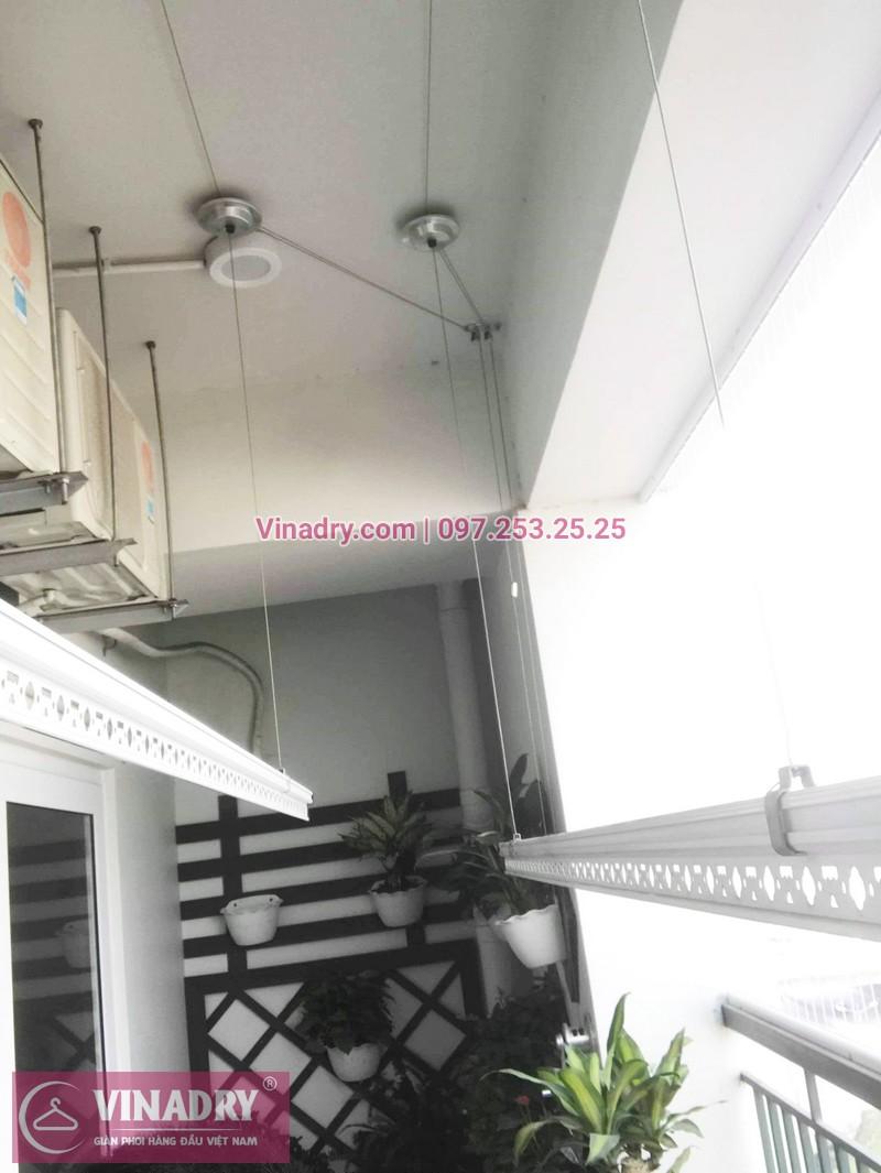 Đẹp ngất ngây! giàn phơi HP701 lắp tại chung cư UDIC Riverside nhà anh Thiện - 05