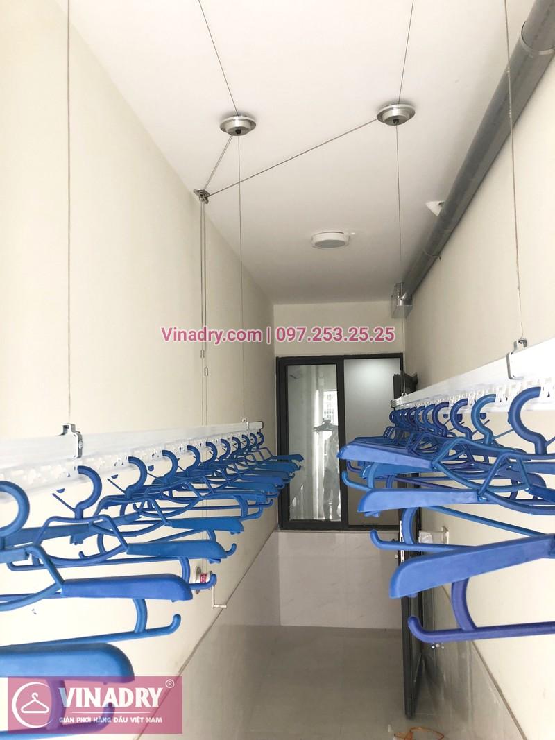 Lắp giàn phơi thông minh tại lô gia chung cư 43 Phạm Văn Đồng nhà anh Hòa - 01