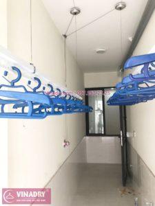 Lắp giàn phơi thông minh tại lô gia chung cư 43 Phạm Văn Đồng nhà anh Hòa - 02