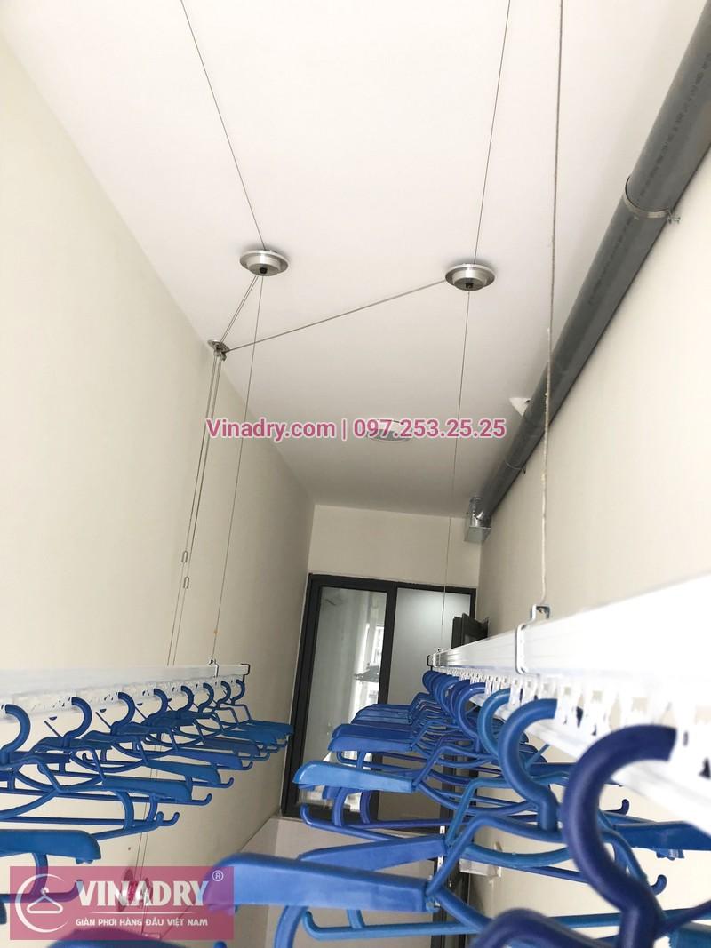 Lắp giàn phơi thông minh tại lô gia chung cư 43 Phạm Văn Đồng nhà anh Hòa - 03