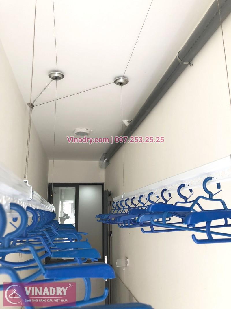 Lắp giàn phơi thông minh tại lô gia chung cư 43 Phạm Văn Đồng nhà anh Hòa - 04