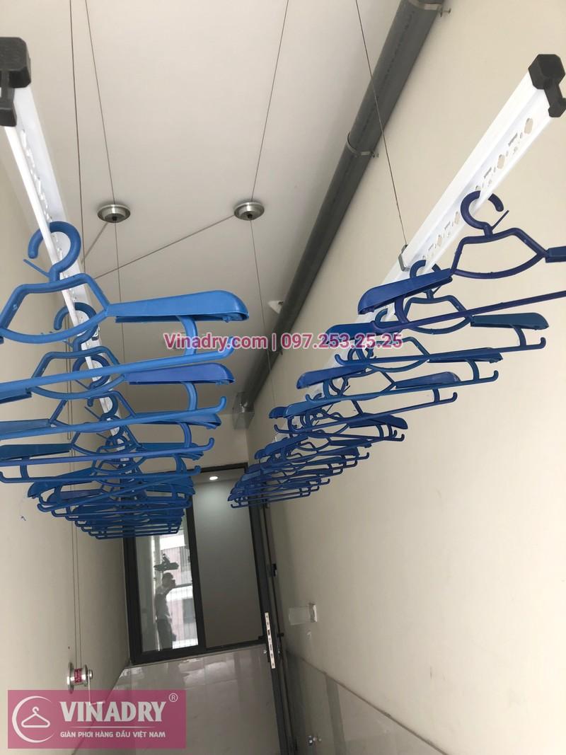 Lắp giàn phơi thông minh tại lô gia chung cư 43 Phạm Văn Đồng nhà anh Hòa - 05