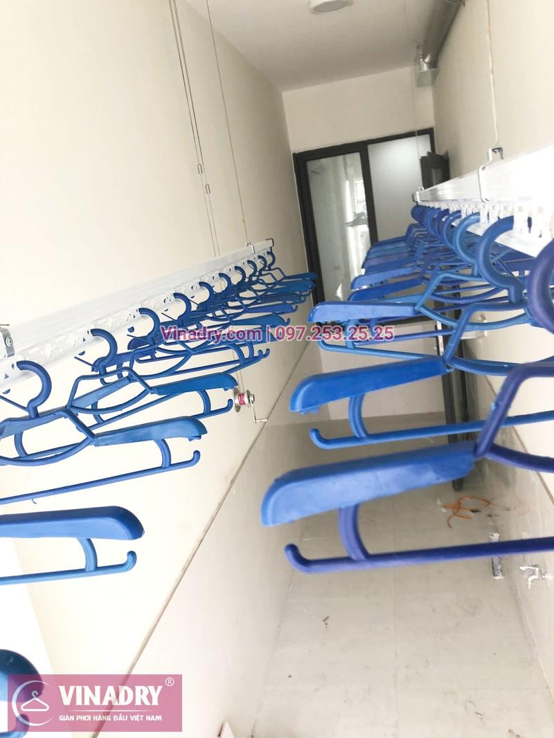 Lắp giàn phơi thông minh tại lô gia chung cư 43 Phạm Văn Đồng nhà anh Hòa - 06