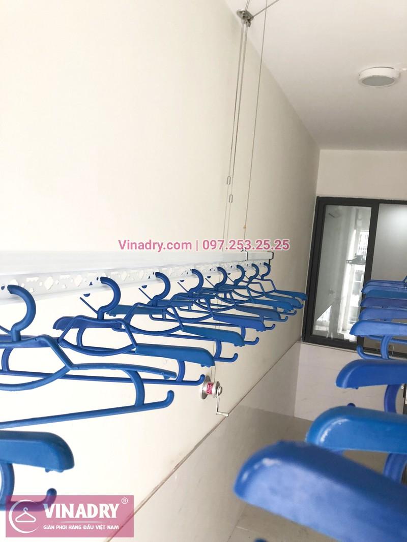 Lắp giàn phơi thông minh tại lô gia chung cư 43 Phạm Văn Đồng nhà anh Hòa - 07