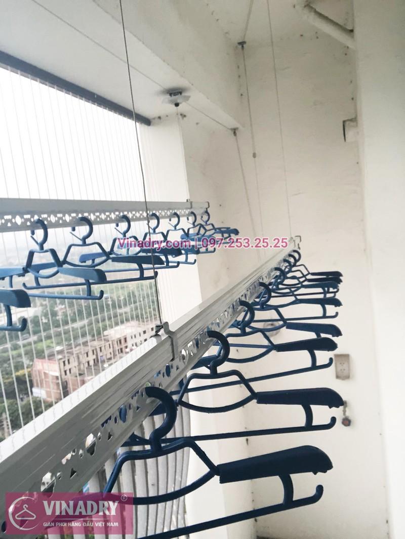 Lắp giàn phơi thông minh Hà Đông nhà anh Tấn, tòa A2, chung cư Gemek Tower - 03