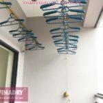 Lắp giàn phơi tại Nam Từ Liêm bộ KG900 nhà chị Huế, chung cư Viwaseen Tower