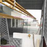 Giàn phơi  HP702 màu vàng sang trọng lắp tại Long Biên nhà chị Hường
