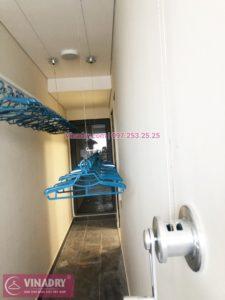 Lắp giàn phơi thông minh tại chung cư Rivera Park, 69 Vũ Trọng Phụng nhà anh Tiến - 03
