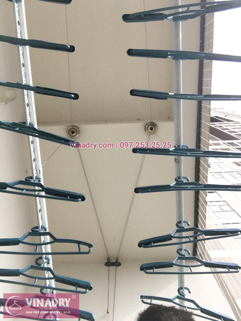 Lắp giàn phơi thông minh kèm lưới an toàn ban công tại chung cư HPC Landmark 105 Hà Đông - 04