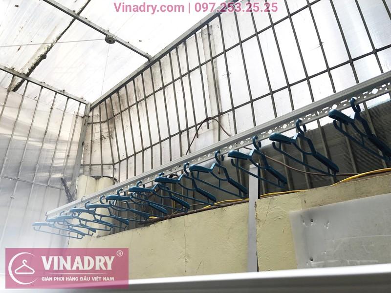 Lắp giàn phơi thông minh Vinadry GP941 cho nhà chị Minh, ngõ 162 Đội Cấn, Hà Nội - 01