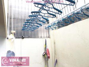 Lắp giàn phơi thông minh Vinadry GP941 cho nhà chị Minh, ngõ 162 Đội Cấn, Hà Nội - 04