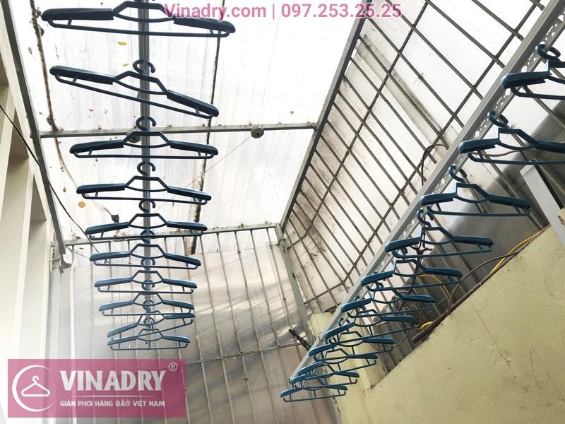 Lắp giàn phơi thông minh Vinadry GP941 cho nhà chị Minh, ngõ 162 Đội Cấn, Hà Nội - 05
