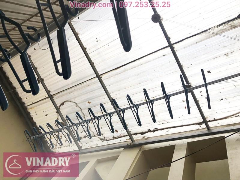 Lắp giàn phơi thông minh Vinadry GP941 cho nhà chị Minh, ngõ 162 Đội Cấn, Hà Nội - 06