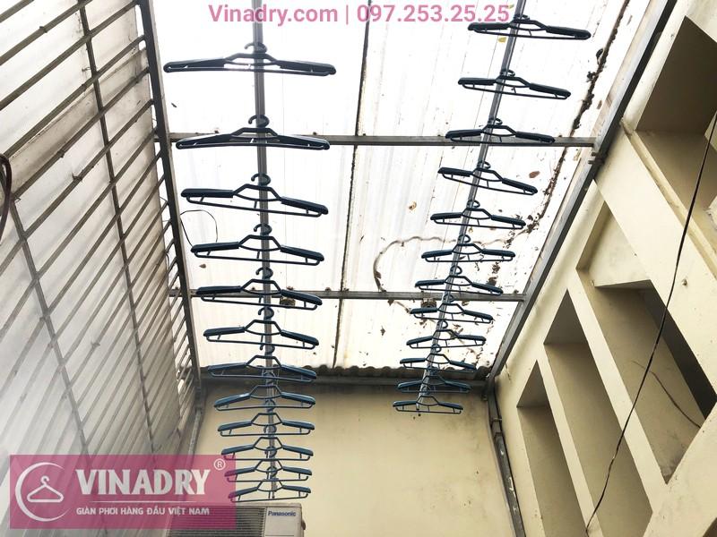 Lắp giàn phơi thông minh Vinadry GP941 cho nhà chị Minh, ngõ 162 Đội Cấn, Hà Nội - 07