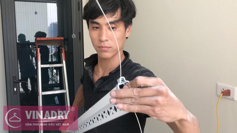 Lắp giàn phơi 701 giá chỉ 1.390k tại chung cư Gelexia Riverside, Hoàng Mai, Hà Nội - 07