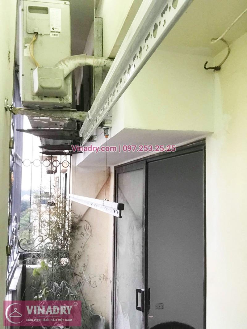 Lắp giàn phơi cho ban công hẹp nhà anh Long, phố Nguyễn Sơn, Long Biên, Hà Nội - 06