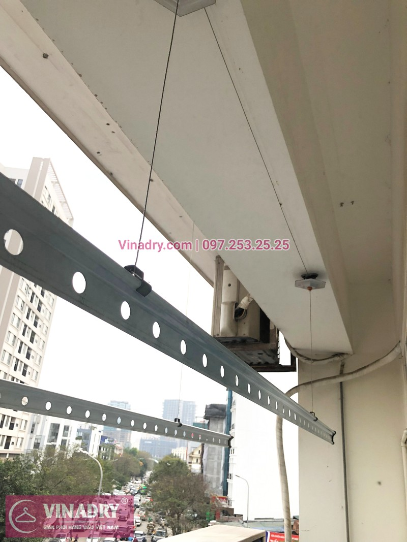 Sửa giàn phơi Cầu Giấy tại nhà chị Quỳnh, chung cư N07-B2, KĐT Dịch Vọng - 01
