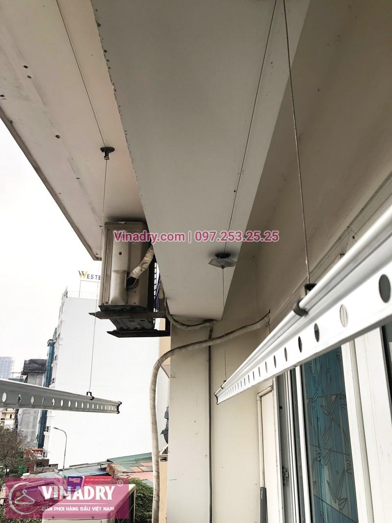 Sửa giàn phơi Cầu Giấy tại nhà chị Quỳnh, chung cư N07-B2, KĐT Dịch Vọng - 02