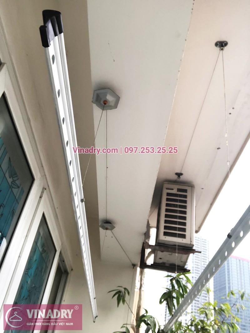 Sửa giàn phơi Cầu Giấy tại nhà chị Quỳnh, chung cư N07-B2, KĐT Dịch Vọng - 03