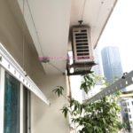 Sửa giàn phơi Cầu Giấy tại nhà chị Quỳnh, chung cư N07-B2, KĐT Dịch Vọng