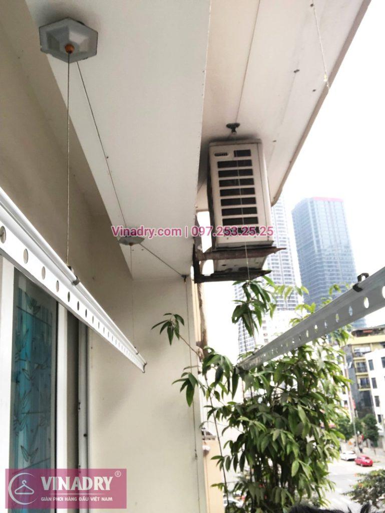 Sửa giàn phơi Cầu Giấy tại nhà chị Quỳnh, chung cư N07-B2, KĐT Dịch Vọng - 04