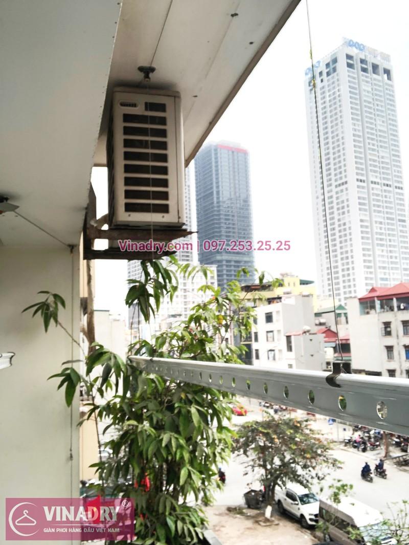 Sửa giàn phơi Cầu Giấy tại nhà chị Quỳnh, chung cư N07-B2, KĐT Dịch Vọng - 05