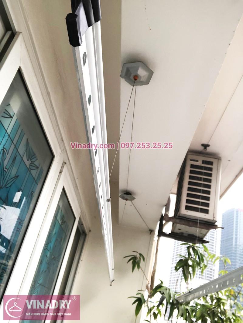 Sửa giàn phơi Cầu Giấy tại nhà chị Quỳnh, chung cư N07-B2, KĐT Dịch Vọng - 06