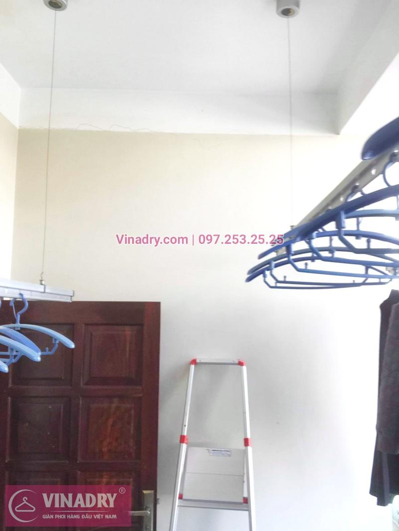Thay bộ tời giàn phơi giá rẻ nhà anh Trọng, Hoàng Mai, Hà Nội - 06