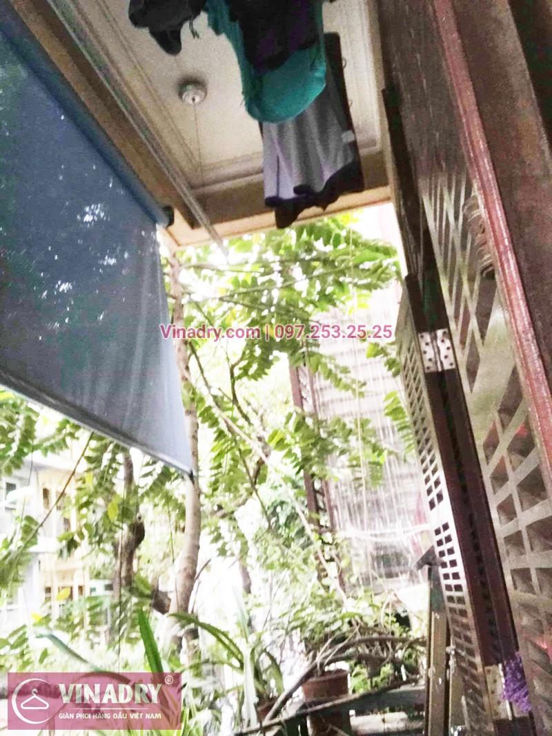 Thay 1 dây cáp giàn phơi phơi tại nhà chị Dao, phố Lê Ngọc Hân, Hà Nội - 02