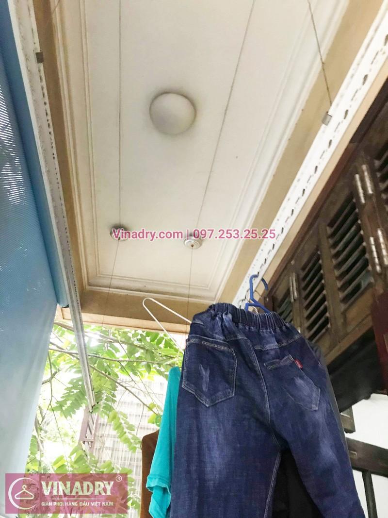 Thay 1 dây cáp giàn phơi phơi tại nhà chị Dao, phố Lê Ngọc Hân, Hà Nội - 03