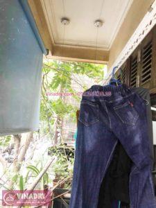 Thay 1 dây cáp giàn phơi phơi tại nhà chị Dao, phố Lê Ngọc Hân, Hà Nội - 06