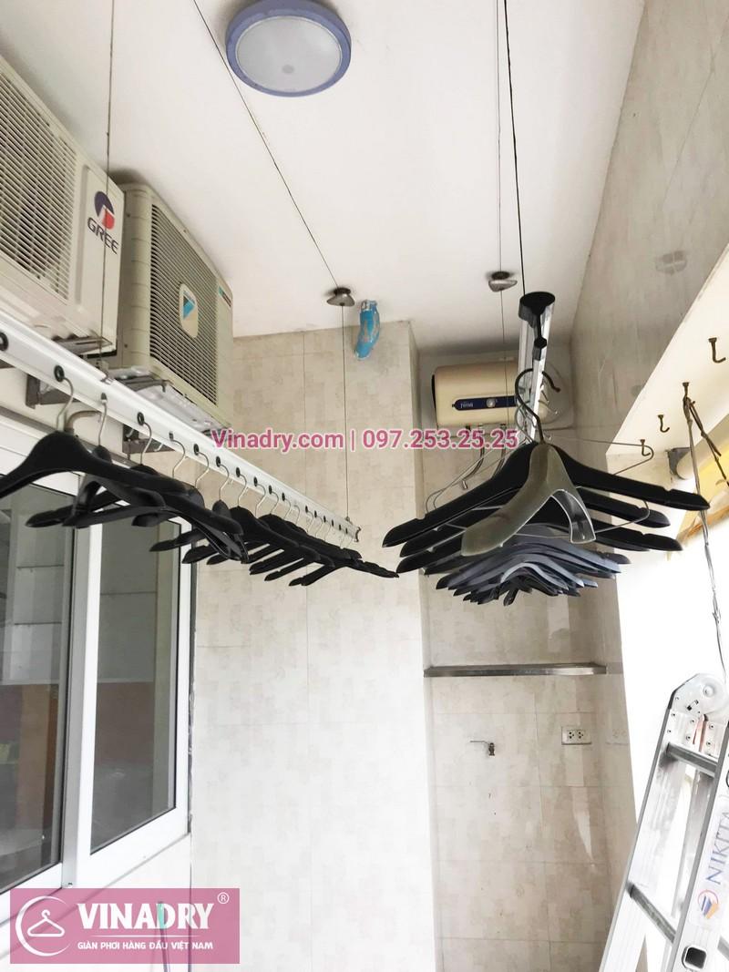 Vinadry sửa giàn phơi, thay dây cáp tại nhà chị Hoa, ngõ Hòa Bình, Hai Bà Trưng - 05
