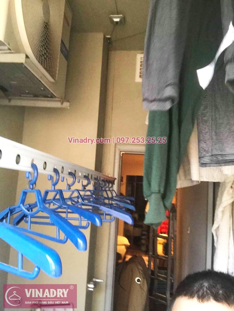 Vinadry sửa giàn phơi thông minh tại KĐT Kim Văn Kim Lũ, Hoàng Mai, Hà Nội nhà chị Hồng - 01
