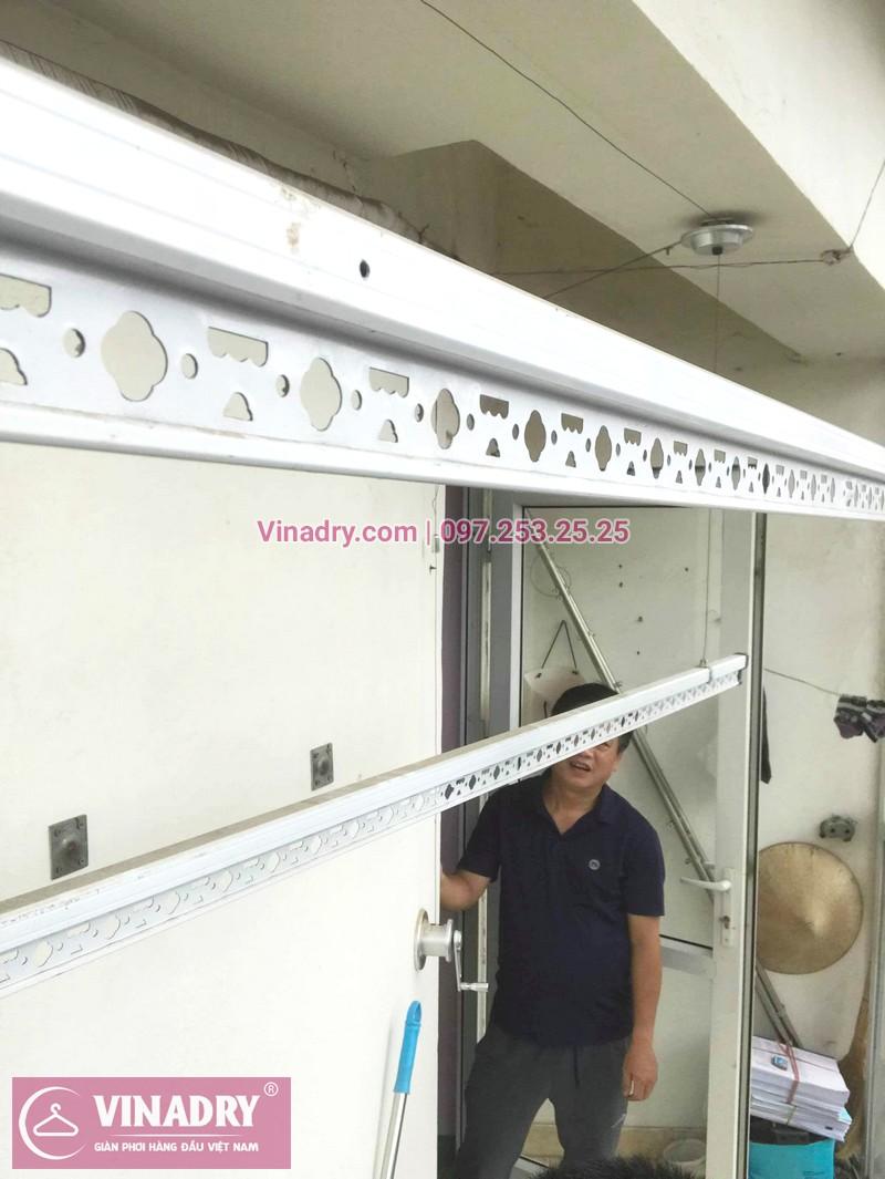 Sửa giàn phơi thông minh quận Cầu Giấy nhà anh Quân, ngõ 299 Trung Kính - 03