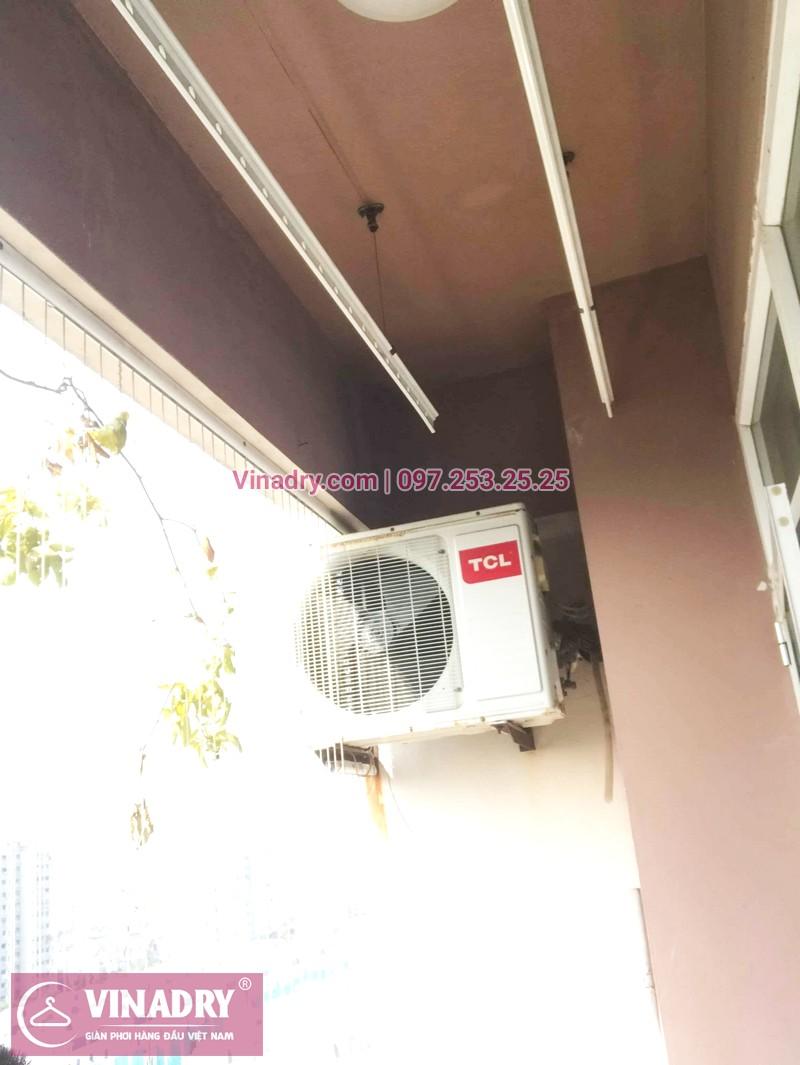 Thay củ quay giàn phơi thông minh nhà chị Loan, tòa CT10, KĐT Việt Hưng - 07