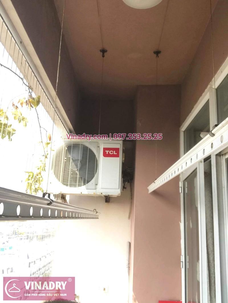 Thay củ quay giàn phơi thông minh nhà chị Loan, tòa CT10, KĐT Việt Hưng - 03