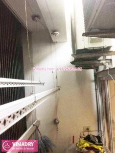 Sửa giàn phơi tại chung cư K33 bộ quốc phòng nhà chị Thơm tòa C3 -03