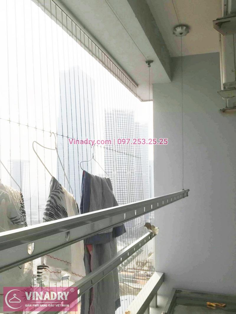 Sửa chữa giàn phơi giá rẻ tại chung cư Green Park nhà anh Thế - 01
