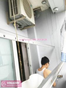 Sửa chữa giàn phơi giá rẻ tại chung cư Green Park nhà anh Thế - 03
