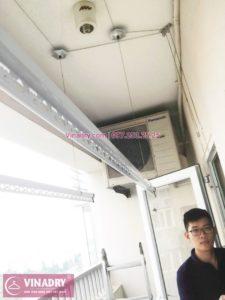 Vinadry sửa giàn phơi thông minh tại KĐT Việt Hưng nhà anh Phú, tòa CT20C - 04