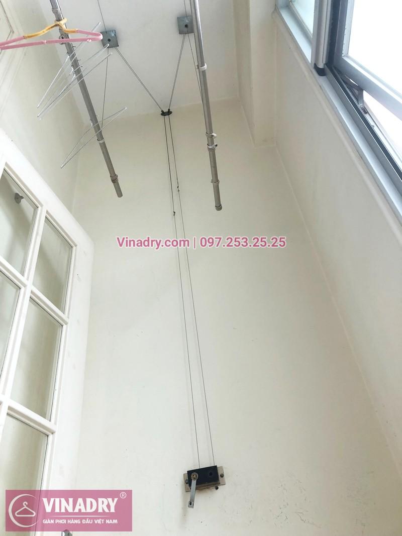 Sửa giàn phơi tại nhà giá rẻ nhất Hà Nội, ảnh sửa tại chung cư The Manor Mỹ Đình - 02