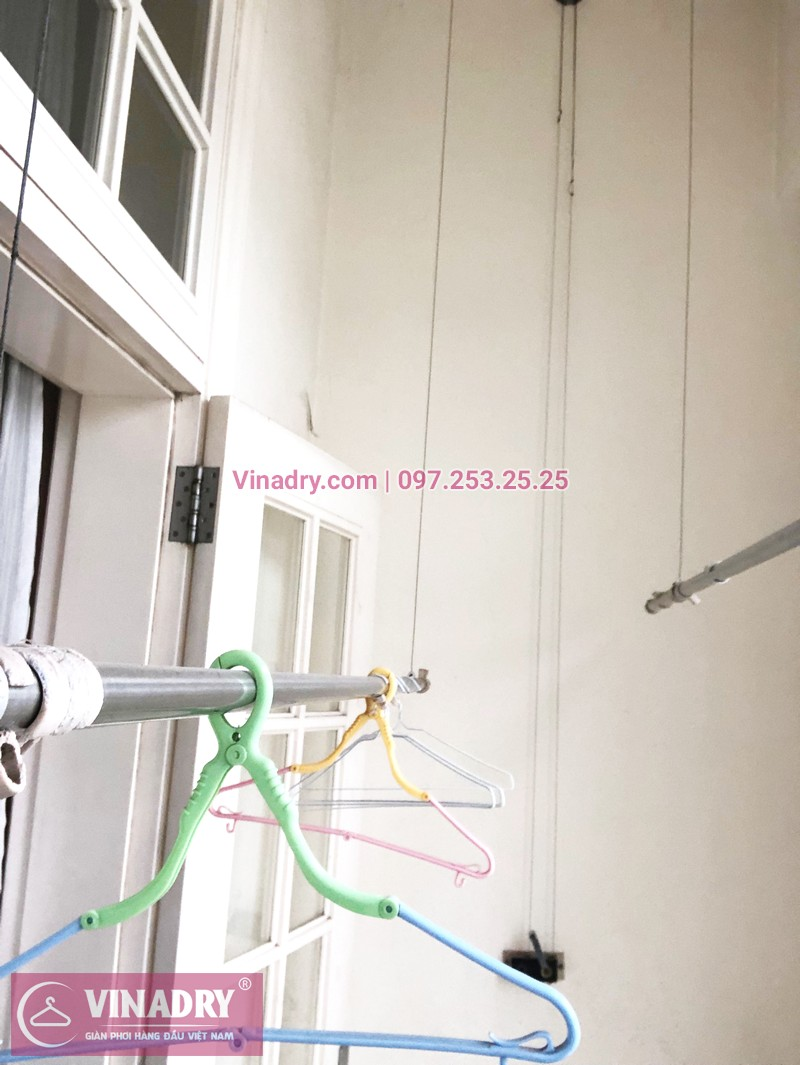 Sửa giàn phơi tại nhà giá rẻ nhất Hà Nội, ảnh sửa tại chung cư The Manor Mỹ Đình - 05