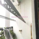 Sửa giàn phơi bị đứt cáp nhà chị Ngọc, tòa T5, Times City