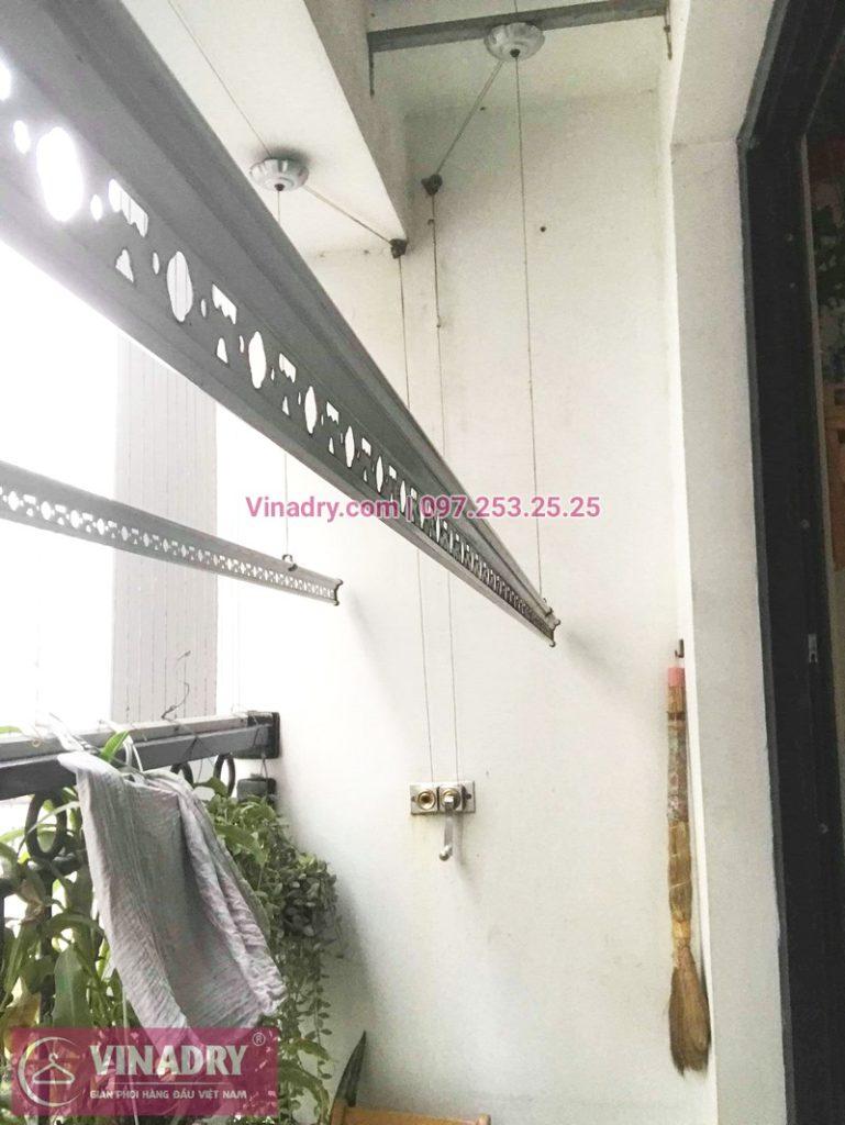 Sửa giàn phơi bị đứt cáp nhà chị Ngọc, tòa T5, Times City -01